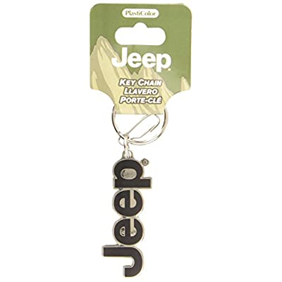 Plasticolor Molded 004266R01 Key Chain with Jeep Logo: Automotive