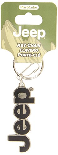 Plasticolor Molded 004266R01 Key Chain with Jeep Logo