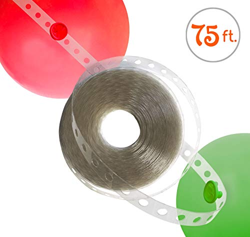 Balloon Arch Strip for Christmas Party Decorations | LONG! 75ft | Easy to Use | Great Alternative to Balloon Arch Kits