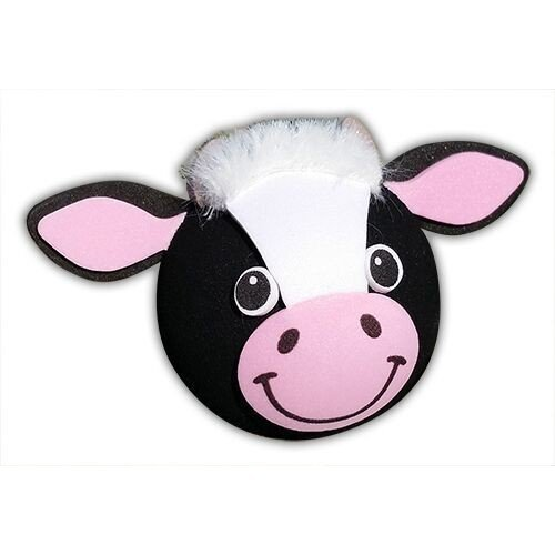 Tenna Tops Thick Style Antenna: Bessie the Cow Antenna Topper/Car Antenna Ball/Mirror Dangler Tenna Tops®