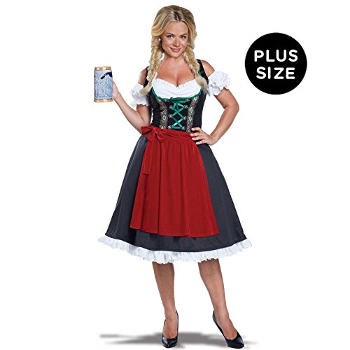 Calif (Womens Fraulein Oktoberfest Costumes)