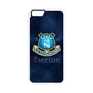 Printed Cover Protector iPhone 6s Plus 5.5 Inch Cell Phone Case White Everton Ywzrz Unique Design Cases