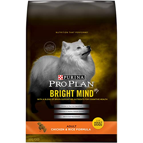 Purina Pro Plan Bright Mind Chicken & Rice Formula Adult Dry Dog Food - 5 Lb. Bag