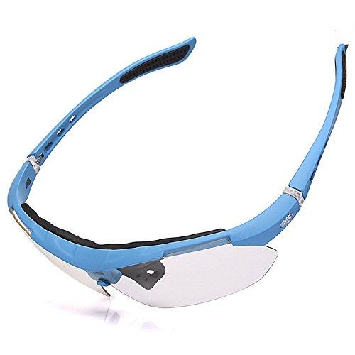 Prueba De Gafas LBY de Correr De De De Gafas Azul Viento Deportes Los Montar Gafas Montaña Pesca De Sol Color Red Hombre Sol Bicicleta A para 7zpqAFz