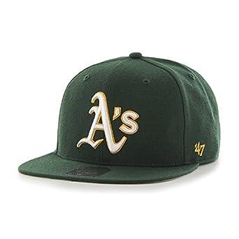 47 MLB Oakland Athletics Sure Shot Captain Baseball Cap 97597af963ca