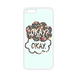 """ALICASE Diy Hard Shell Cover Case Of Okay Okay for iPhone 6 Plus (5.5"""") [Pattern-1]"""