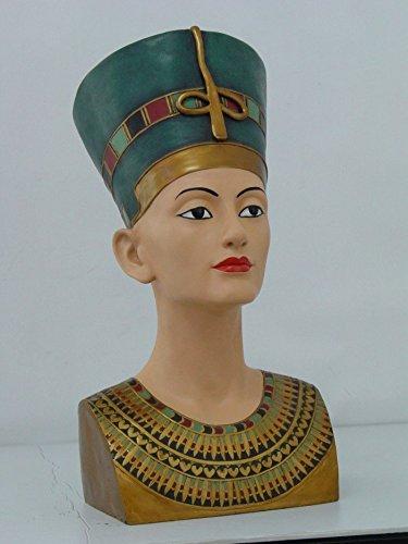 Amazon.com: 18 inch Reina Egipcia Nefertiti (cabeza y Busto ...