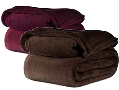 (FIRE Retardant Blanket (Chocolate, Twin))