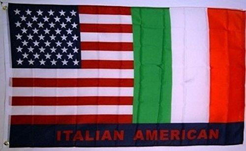 italian american flag - 3
