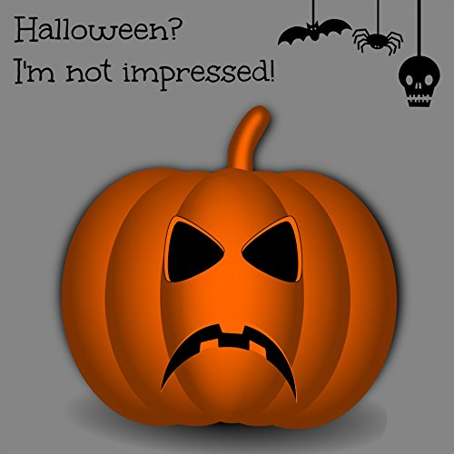 Home Comforts Laminated Poster Halloween Ecard Pumpkin Illustrations Poster Print 24x -