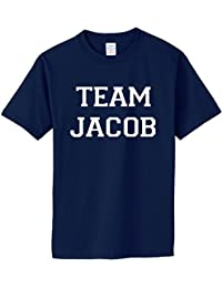 TEAM JACOB on Adult & Youth Cotton T-Shirt (in 26 colors)