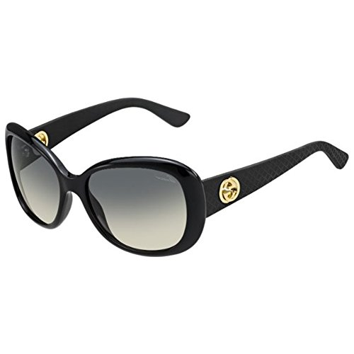 1c2caacf63 Gucci 3787S LWD Black Rubber 3787S Butterfly Sunglasses Lens ...