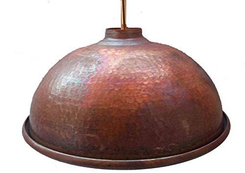 Traditional Copper Pendant Light