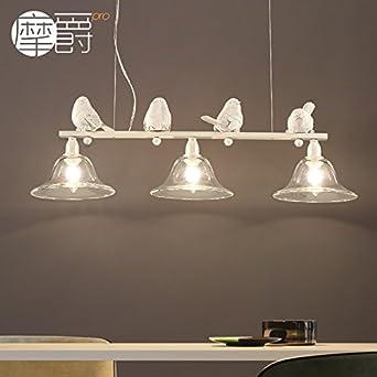 GroBartig JJ Moderne LED Pendelleuchten Lampe Im Europäischen Stil Amerikanischer  Kronleuchter Lüster Designer Birdie Personalisierung Kreative Kunst