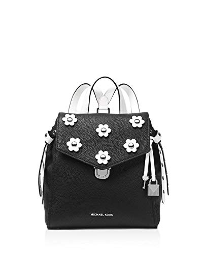 MICHAEL Michael Kors Bristol Small Backpack, Black/Optic White Floral