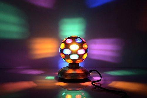 5'' Rotating Disco Ball (Black) by Unido Box (Image #2)