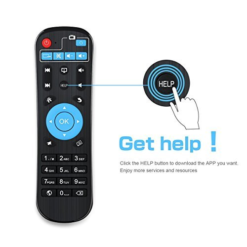 TV Box, SMALLRT X1 Android 6.0 Smart TV Box Supports True 4K Playing Perfect For Home Entertainment