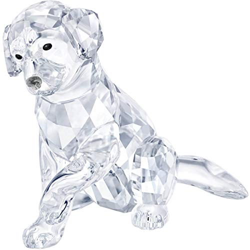 Swarovski Crystal Labrador Mother Decoration Figurine, used for sale  Delivered anywhere in USA