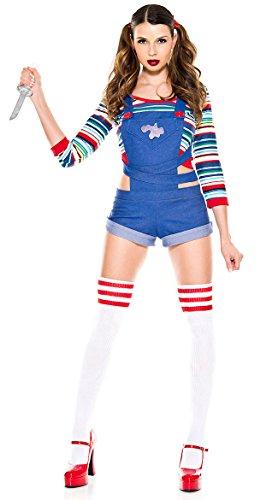 Music Legs Nightmare Killer Doll Costume