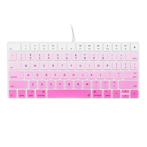 Free Masino Silicone Keyboard Cover Ultra Thin Keyboard Skin for Apple Magic Keyboard