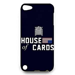 Custom Designpopular House of Cards Phone Case cover for Ipod Touch 5th 3d hard plastic case