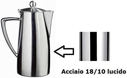Ilsa Slancio Lucida Cafetera Acero Inoxidable 18/10: Amazon.es: Hogar