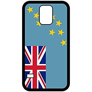 Tuvalu Flag Black Samsung Galaxy S5 Cell Phone Case - Cover