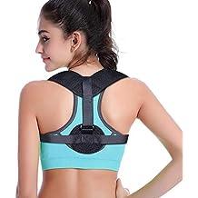 Back Support for Women & Men,Posture Corrector Brace Relieves Upper Back & Shoulders Pain,Corrects Slouching & Bad Posture, Back Braces Adjustable Brace
