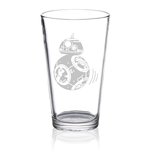 Star Wars - BB8 - Etched Pint Glass (Chicos Design)