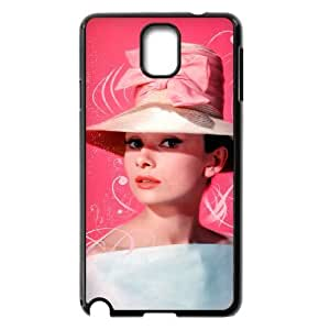 C-EUR Customized Print Audrey Hepburn Hard Skin Case Compatible For Samsung Galaxy Note 3 N9000