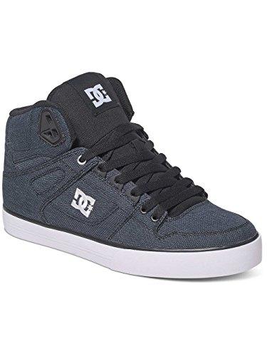 DC Sneaker - SPARTAN HIGH WC TX SE - black dark used Noir - Black Dark Used