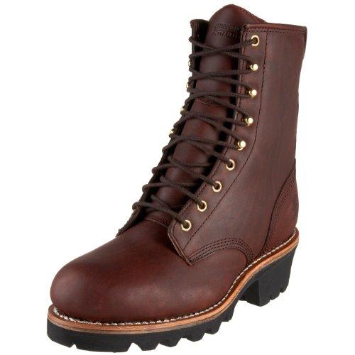 """Chippewa Men's 73030 8"""" Logger Boot,Redwood,10 M US"""