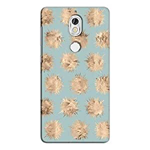 Cover It Up - Sand Star Cyan Nokia 7 Hard Case