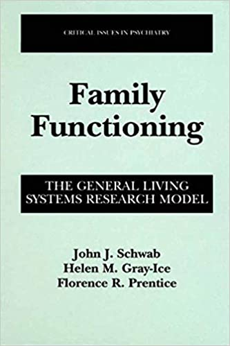 Family Functioning: The General Living Systems Research Model (Critical Issues in Psychiatry)