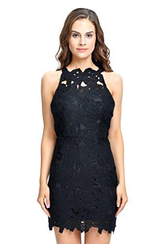 Open Back Sheath Dress - 1