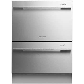 "Fisher Paykel DD24DDFX7 DishDrawer 24"" Stainless Steel Semi-Integrated Dishwasher - Energy Star"