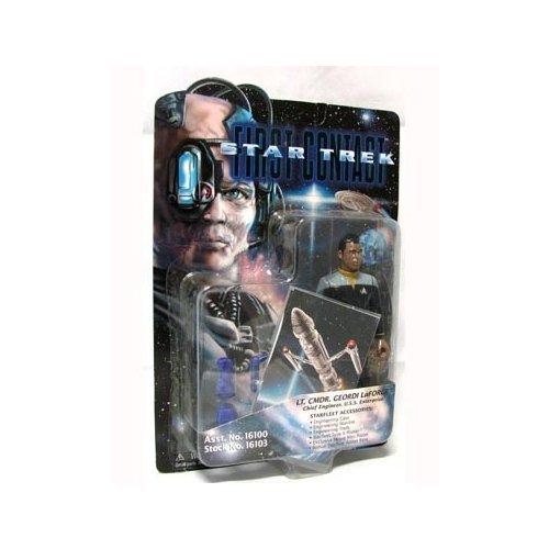 Figure Playmates Star Trek - Star Trek First Contact Lt. Cmdr. Geordi LaForge 6 inch Action Figure