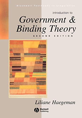 (Introduction to Government and Binding Theory )