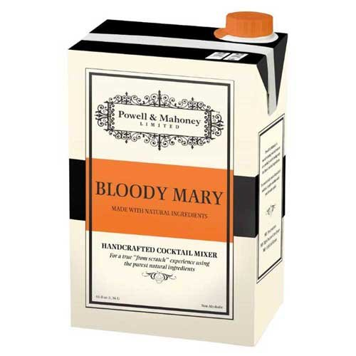 Powell and Mahoney Bloody Mary Cocktail Mix, 46 Fluid Ounce -- 6 per case.