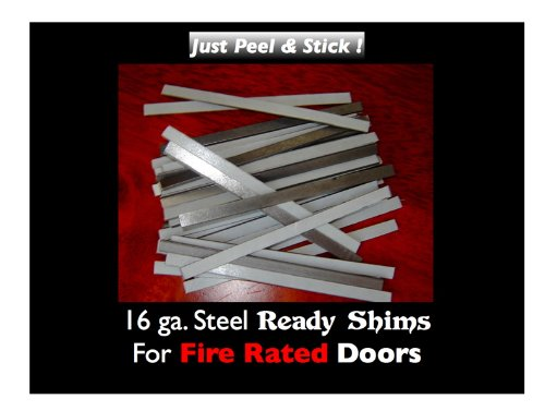 READY SHIMS FOR COMMERCIAL FIRE DOORS (PACK OF 100)