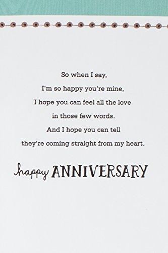 Hallmark Mahogany Anniversary Greeting Card for Husband (How Amazing ...