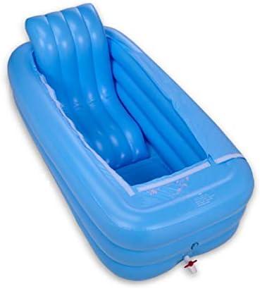 ポータブル浴槽風呂折りたたみ浴槽風呂バレルの大人は家の全身バレルを肥厚しました