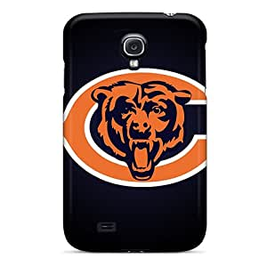 Great Hard Phone Case For Samsung Galaxy S4 With Provide Private Custom Vivid Chicago Bears Image AshtonWells