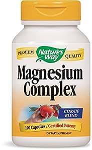 Nature's Way Magnesium Complex, 100 Capsules  (Pack of 2)