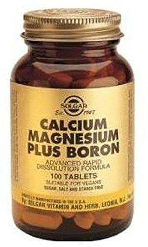 Calcio Magnesio con Boro 250 comprimidos de Solgar: Amazon.es: Salud y cuidado personal