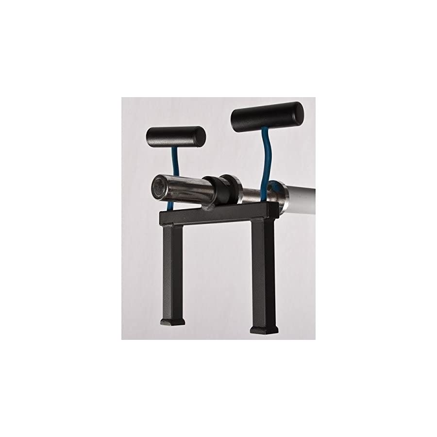 Olympic T Barbell Row Fat handles plus stand