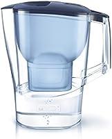 ブリタ 浄水器 ポット 浄水部容量:2.0L(全容量:3.5L)  アルーナ XL ブルー マクストラプラス カートリッジ 1個付き 【日本仕様・日本正規品】