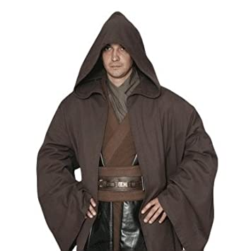 8b9543aa96 Star Wars Jedi-style robe costume  costume   black   brown   Costume ...