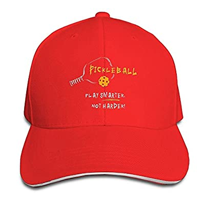 May Pickleball Sport Baseball Caps Patriotic Comfort Personalized Hats For Kids