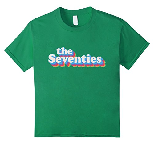 70s Kelly Green (unisex-child Vintage Seventies Birthday TShirt Since 1970 Made In 70s Tee 4 Kelly Green)